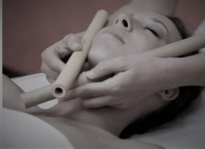 Trattamento viso ayurvedic bamboo effetto liftante