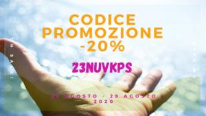 """Read more about the article Codice sconto """"Buone vacanze"""" !!!"""